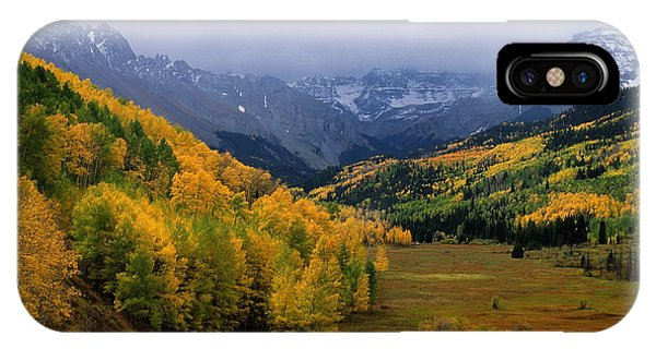 Fourteener iPhone Case - Little Meadow Of The Sublime by Eric Glaser