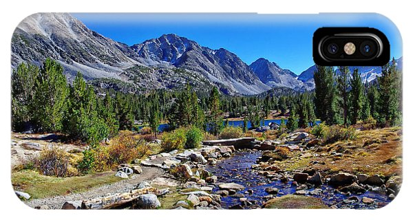 Little Valley Trail John Muir Wilderness IPhone Case