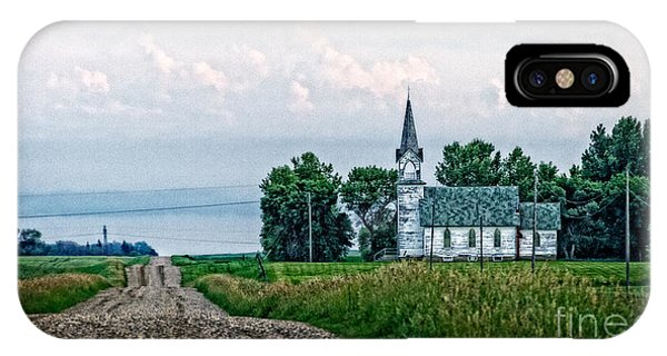 Little White Church IPhone Case