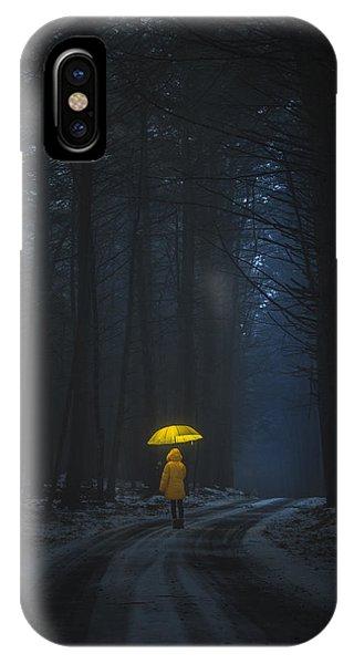 Little Yellow Riding Hood IPhone Case