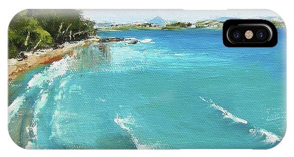 Litttle Cove Beach Noosa Heads Queensland Australia IPhone Case