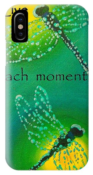 Live Each Moment IPhone Case