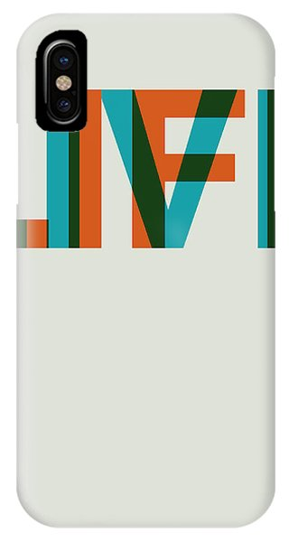 Quote iPhone Case - Live Life Poster 2 by Naxart Studio