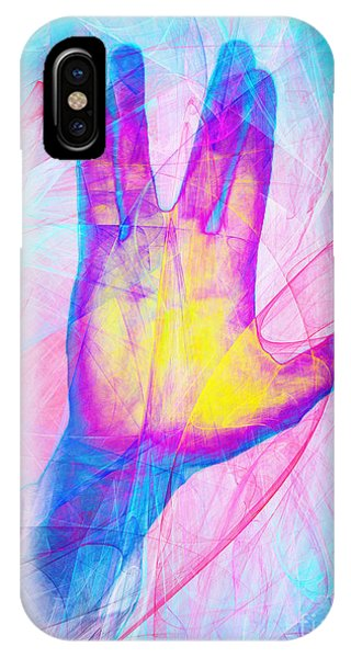 Live Long And Prosper 20150302v1 IPhone Case
