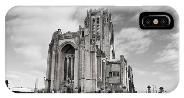Liverpool Anglican Cathedral IPhone Case