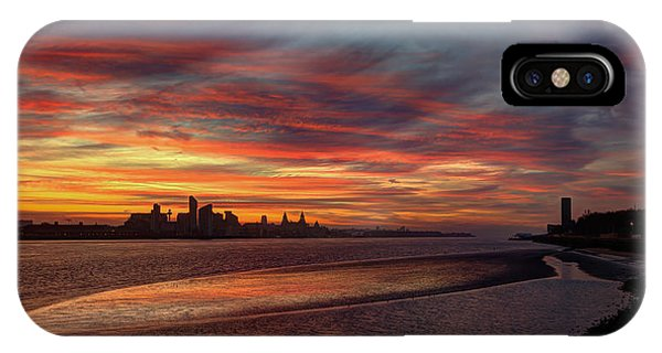 Liverpool Skyline IPhone Case