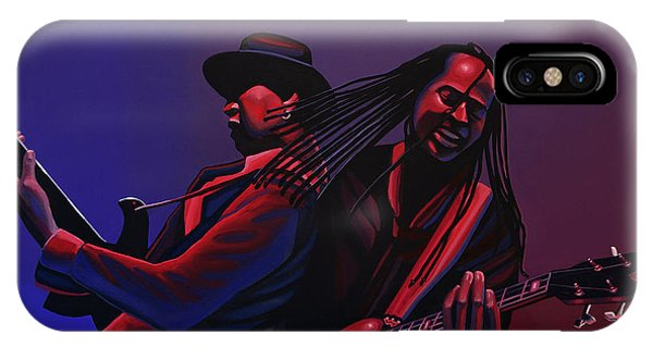 Free Will iPhone Case - Living Colour Painting by Paul Meijering
