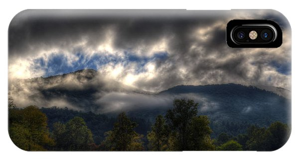 Living In The Clouds Of Western North Carolina IPhone Case