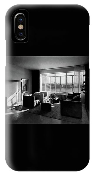 Living Room In The Ny Home Of Edward M. M IPhone Case