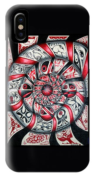 Living Spiral IPhone Case