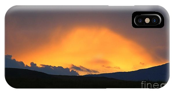 Livingstone Range Sunset IPhone Case