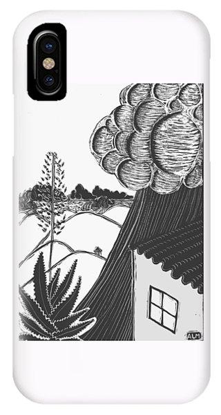 Lluvia IPhone Case