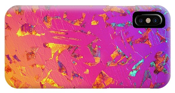 Lm Of C35 Steel In Thin Section Phone Case by Astrid & Hanns-frieder Michler/science Photo Library