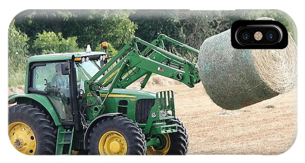 iPhone Case - Loading Hay by J McCombie