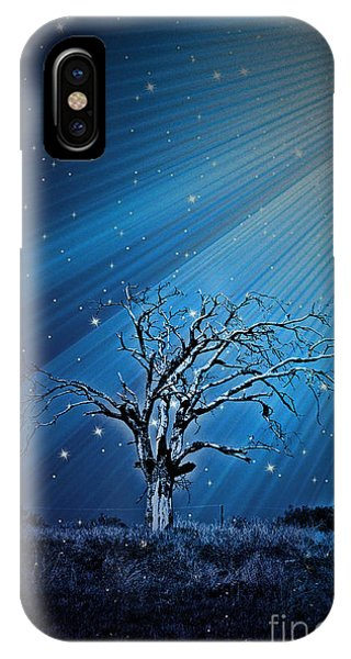 Loan Oak Light Trail - No1410 IPhone Case