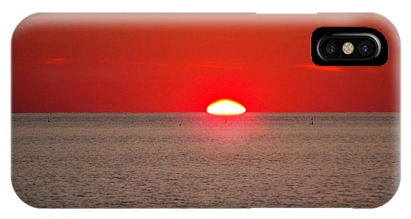 Lobster Pots Dance In The Sea  At Sunrise IPhone Case