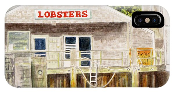 Lobster Shack IPhone Case