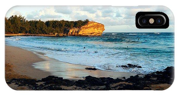 Local Surf Spot Kauai IPhone Case
