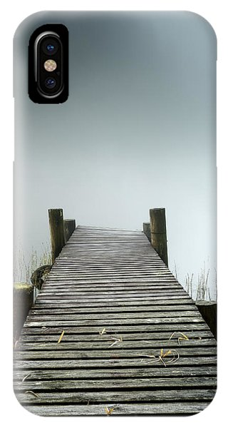 Loch Ard iPhone Case - Loch Ard Jetty by Grant Glendinning