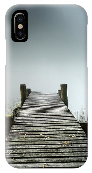 IPhone Case featuring the photograph Loch Ard Jetty by Grant Glendinning