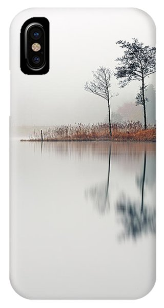 Loch Ard Reflections IPhone Case