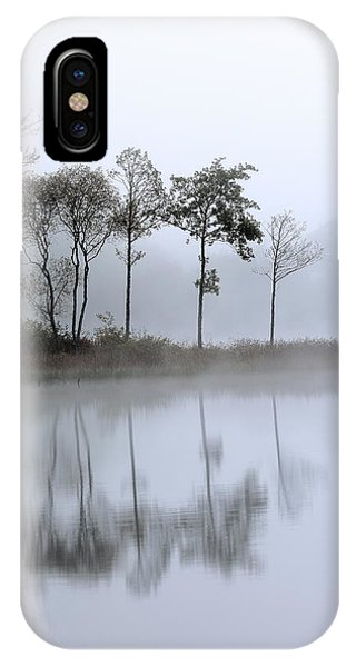 Loch Ard Trees In The Mist IPhone Case