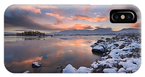 Moor iPhone Case - Loch Ba by Rod McLean