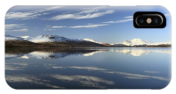 Loch Lomond Reflection IPhone Case