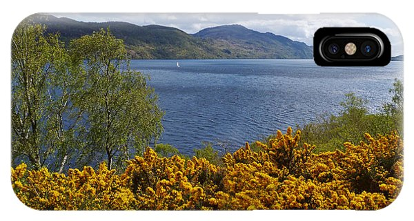 Loch Ness - Springtime IPhone Case