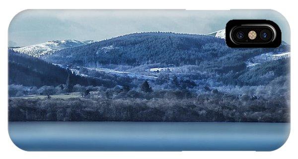 Loch Ness Winter Blues IPhone Case