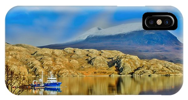 Loch Shieldaig In Assynt In The Scottish Highlands Phone Case by Tylie Duff