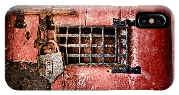 Dungeon iPhone Case - Locked Up by Olivier Le Queinec