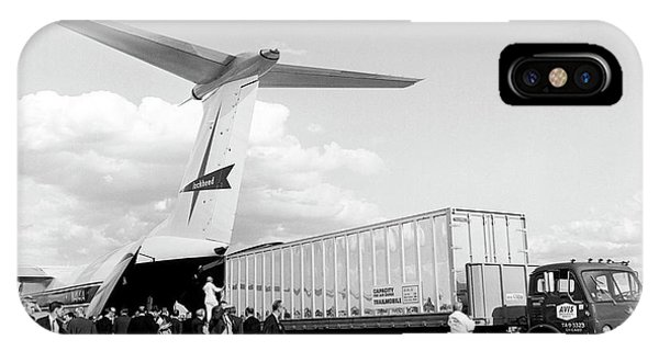 Lockheed C-141 Starlifter Phone Case by Underwood Archives