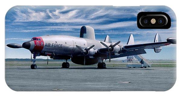 Lockheed Ec-121 Warning Star Early Warning Aircraft IPhone Case