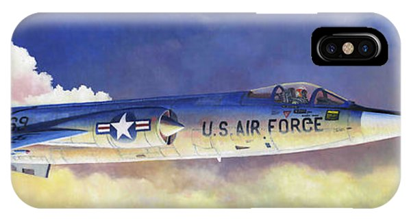 Lockheed F-104a Starfighter IPhone Case