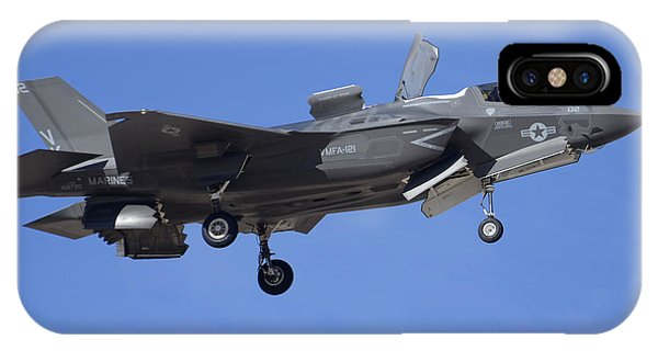 Lockheed-martin F-35b Lightning 2 Buno 168720 Luke Air Force Base December 10 2013 IPhone Case