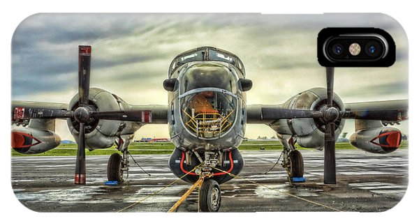 Lockheed P-2 Neptune Gunship IPhone Case