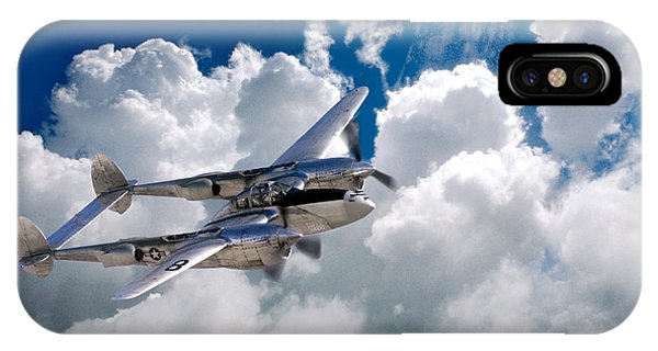 Lockheed P-38 Lightning IPhone Case
