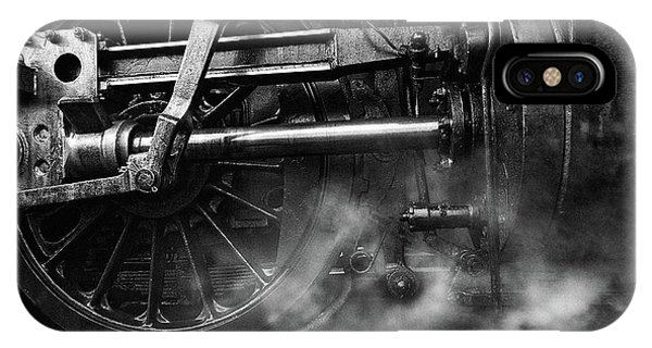Train iPhone Case - Locomotive Breath by Holger Droste