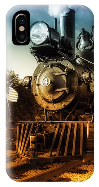 IPhone Case featuring the photograph Locomotive Number 4 by Bob Orsillo