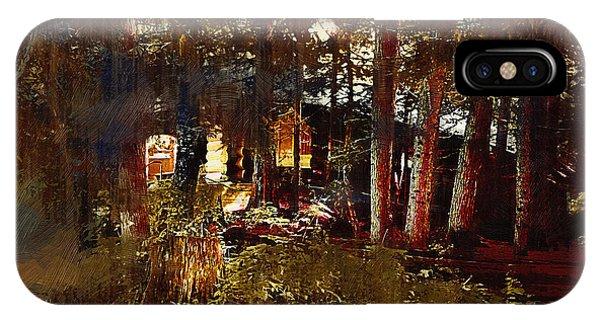 Log Cabin IPhone Case