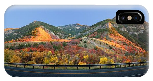Logan Canyon IPhone Case