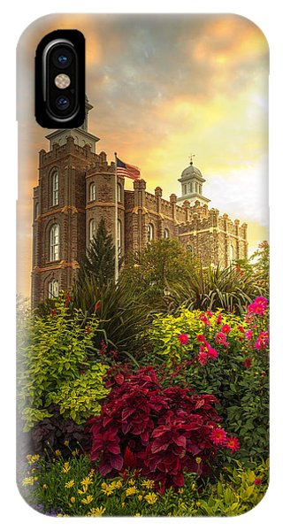 Logan Temple Garden IPhone Case