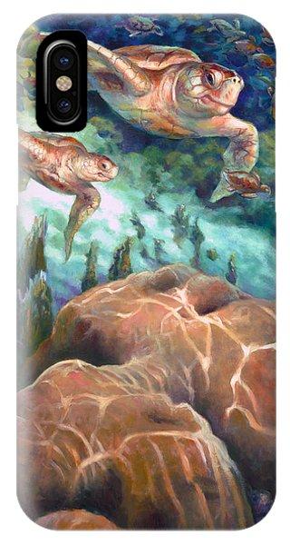 Loggerhead Sea Journey I IPhone Case