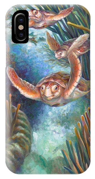 Loggerhead Sea Journey IIi IPhone Case