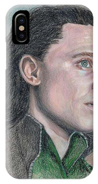 iPhone Case - Loki From The Avengers by Christine Jepsen
