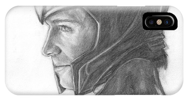 Loki Smirking IPhone Case