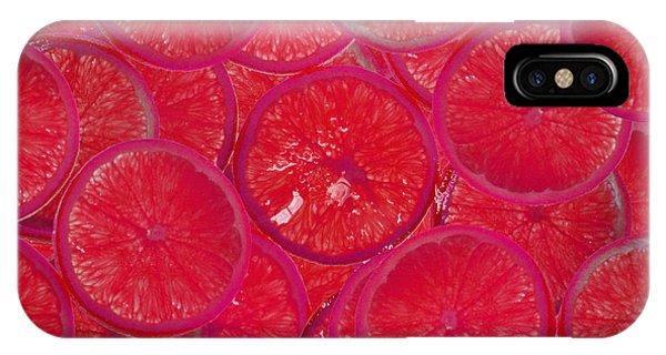 Lolly Orange IPhone Case