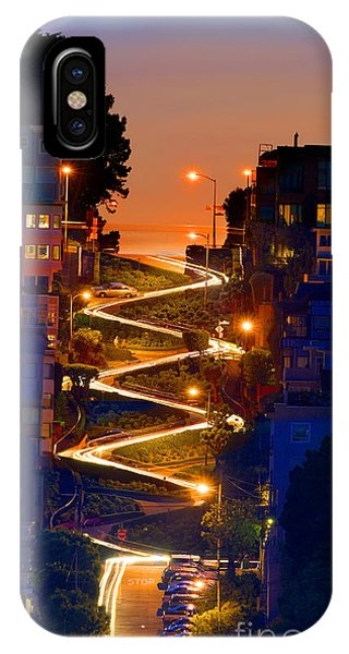 Lombard Street Depth Into The Darkness Of Light IPhone Case
