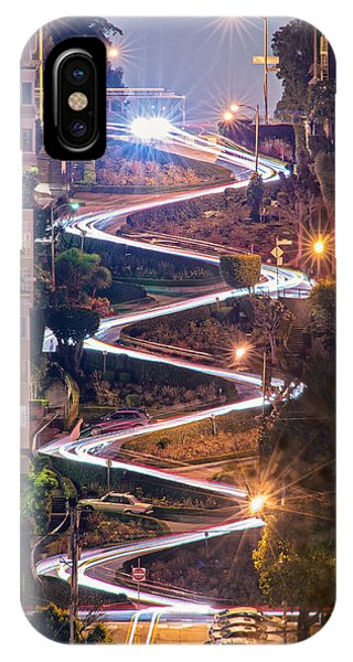 San Francisco iPhone Case - Lombard Street With Cable Car - San Francisco by David Yu